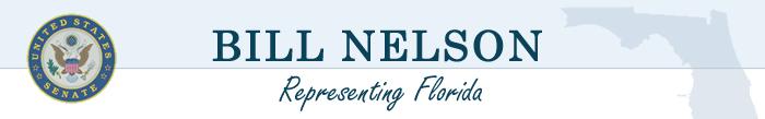 Message from Senator Bill Nelson ….